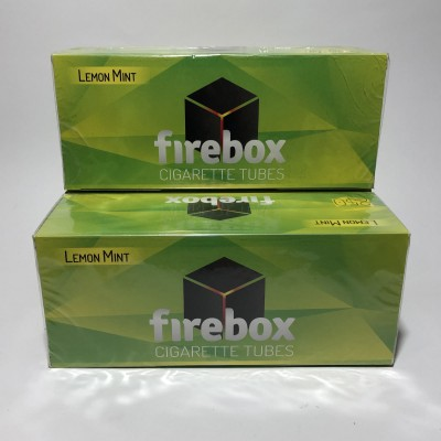 Гильзы Firebox (Лимон+Мята 250 шт)