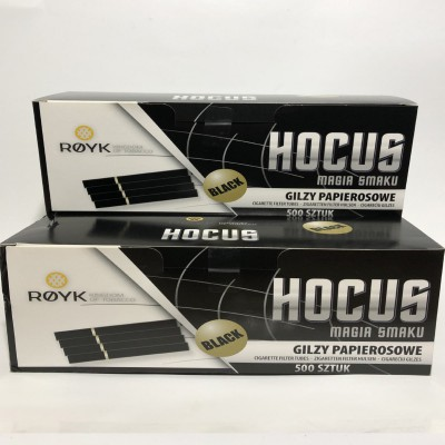Сигаретные гильзы HOCUS BLACK